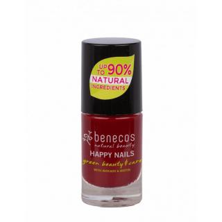 benecos Nail Polish cherry red 5ml Flasche