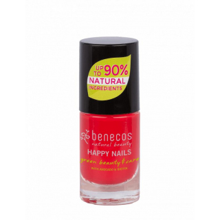 benecos Nail Polish hot summer 5ml Flasche