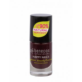 benecos Nail Polish vamp 5ml Flasche