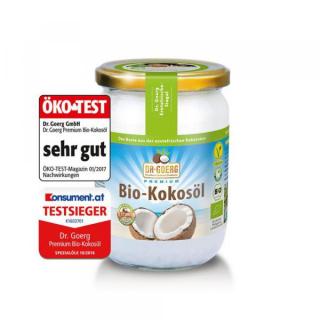 Dr. Goerg Kokosöl nativ 1. Kaltpressung 500ml Glas