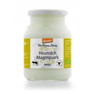 Die Feine Linie Heumilch Magerquark 500g Glas