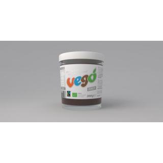 vego Fine Hazelnut Chocolate Spread (crunchy) 200g Glas