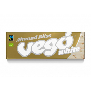 Vego white- Almond Bliss 50g Tafel