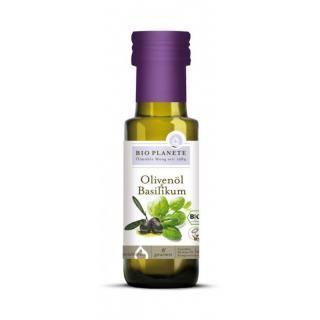 Bio Planète Olivenöl & Basilikum 100ml Flasche
