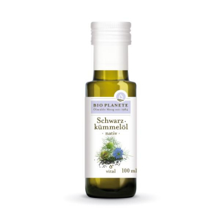 Bio Planète Schwarzkümmelöl nativ 100ml Flasche