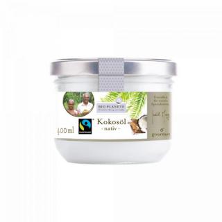 Bio Planète Kokosöl nativ 400ml Glas Fairtrade