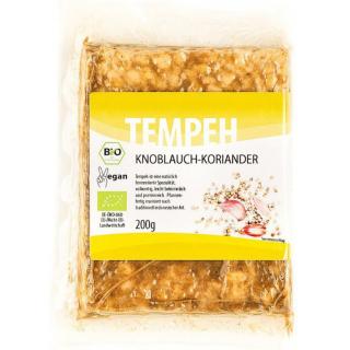 Tempehmanufaktur Tempeh Knoblauch-Koriander Indonesien 200g Stück