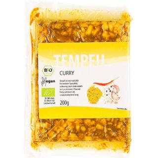 Tempehmanufaktur Tempeh Curry Indisch 200g Stück