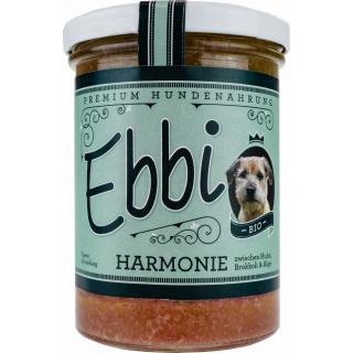 Wuff & Mau Heimtiernahrung Wuff Premium Hundefutter Harmonie 400g Glas