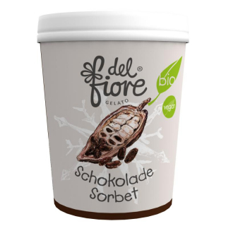 del fiore Gealato Schokolade Sorbet 500ml Becher
