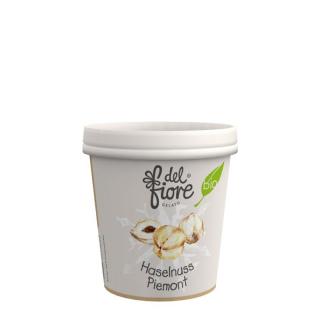 del fiore Gealato Haselnuss Piemonte Eis 130ml Becher