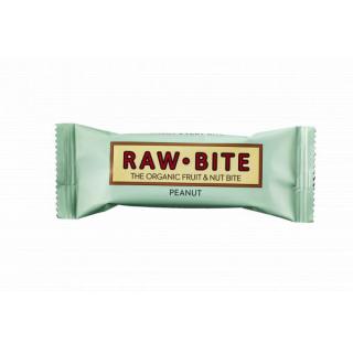 RAW BITE Rohkostriegel Peanut 50g Stück
