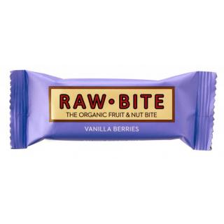 RAW BITE Rohkostriegel Vanilla Berries 50g Stück