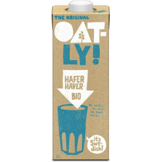 Oatly Haferdrink classic 1l Tetra Pack
