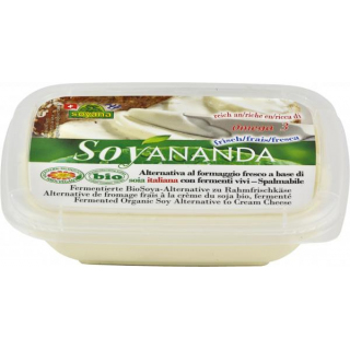 Soyananda Soya Alternative zu Rahm Frischkäse natur 140g Becher