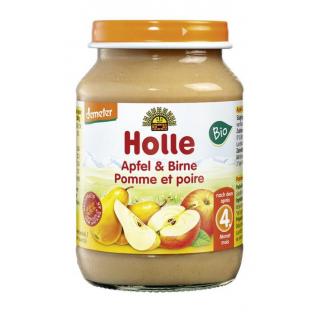Holle Apfel und Birne 190g Glas