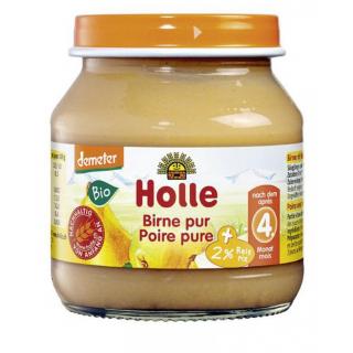 Holle Birne pur 125g Glas