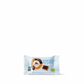 Alce Nero Dinkelkeks mit Milchschokolade 28g Stück