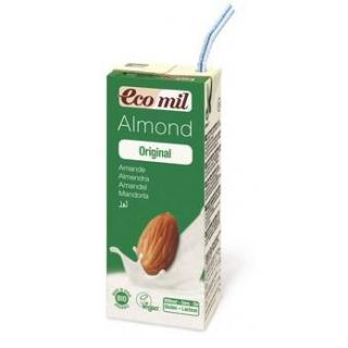 Ecomil Mandelmilch gesüßt 200ml Tetrapak