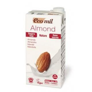 EcoMil Mandelmilch Natur zuckerfrei 1l Tetra Pack