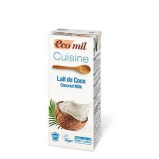 EcoMil Cuisine Kokosmilch Sahne-Ersatz 200ml Tetra
