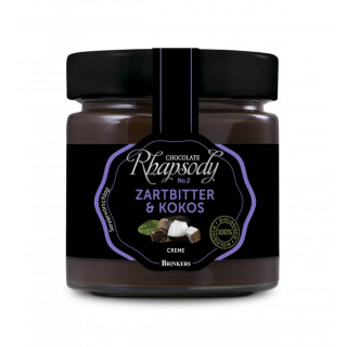 Rhapsody Zartbitter & Kokos Creme 200g Glas