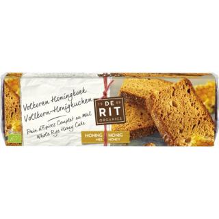 De Rit Honigkuchen aus Vollkornmehl 300g Stück