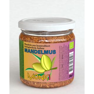 Monki Mandelmus 330g Glas