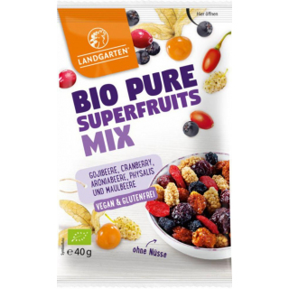 Landgarten Pure Superfruits Mix 40g Beutel