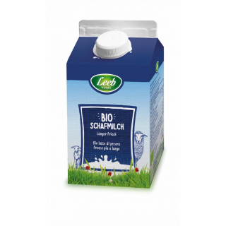 Leeb Vital Schafmilch länger frisch 500ml Packung