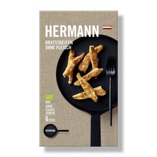 Hermann Bratstreifen ohne Fleisch 150g  - 6 Stück Packung