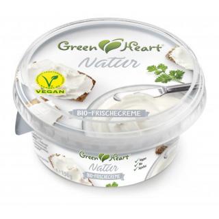 Green Heart Frischecreme Natur 150g Schale