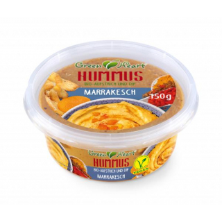Green Heart Hummus Marrakesch 150g Becher