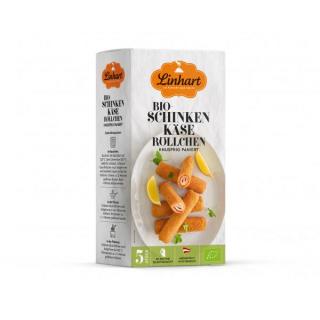 Linhart Schinken-Käse Röllchen 5 Stück 300g Packung